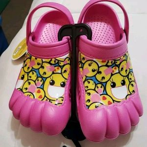 Other - Kids Activity Clogs Girls Youth Emoji Swim Shoes